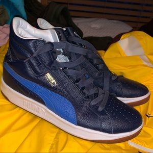 Puma leather challenge sneaker